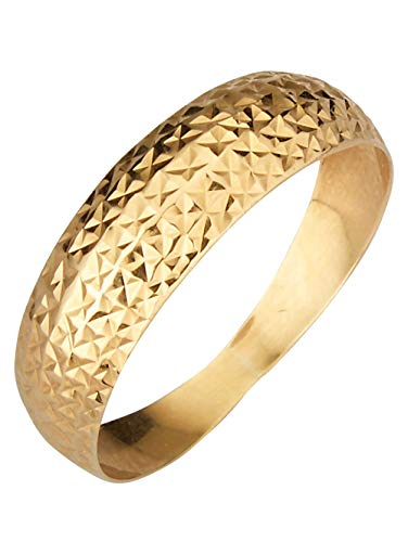 KLiNGEL Damen 375 Gelbgold Ring in Gelbmit in und in und in