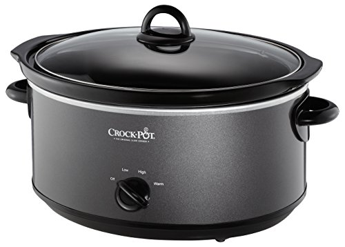 Crockpot SCV700-KC crock pot, 7 quarts, Charcoal