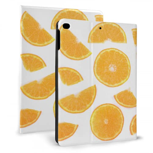 WYYWCY pad Cover Protection Orange Slice Fruit Yummy pad Cases For pad Mini 4/mini 5/2018 6th/2017 5th/air/air 2 With Auto Wake/sleep Magnetic Magnetic pad Cover