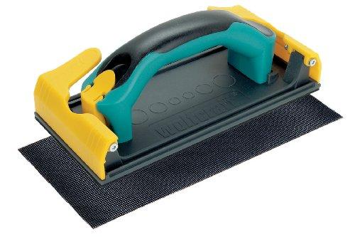 Wolfcraft 4056000 (L) manual para planchas de placa de yeso y escayola. Incluye mango intercambiable de 2 componentes, 1 tela de rejilla lijadora PACK 1, 105x218x90mm