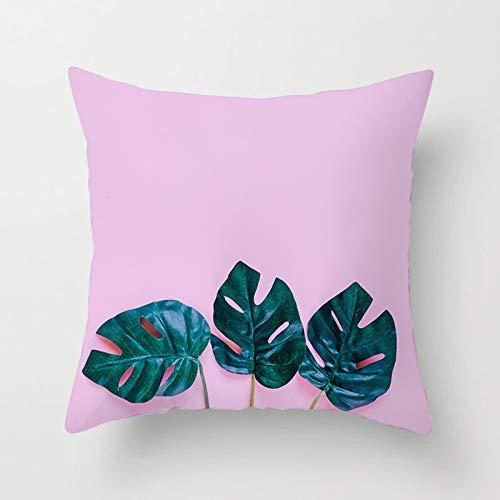KnBoB Funda Almohada 45 x 45 cm Púrpura Poliéster Sale De Estilo 29