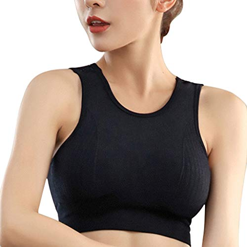 Female Hollowing Out Shock-Proof Yoga Sports Bra Without Steel Ring Underwear