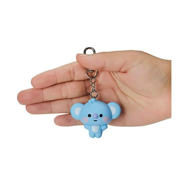 BT21 Official Merchandise by Line Friends – Baby Series Character Action Figure Keychain Ring Bag Charm