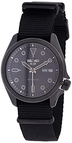 Seiko Reloj Analógico para Hombre de Automático con Correa en Nailon SRPE69K1
