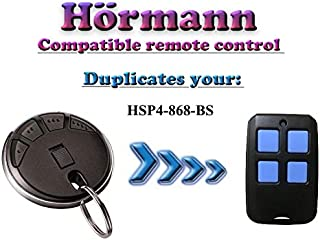 Hörmann HSP4-868-BS Compatible remote control, BiSecur Clone Duplicator, 868,3Mhz 4-Channel Transmitter, Top Quality Hormann Replacement for The Best Price!!!