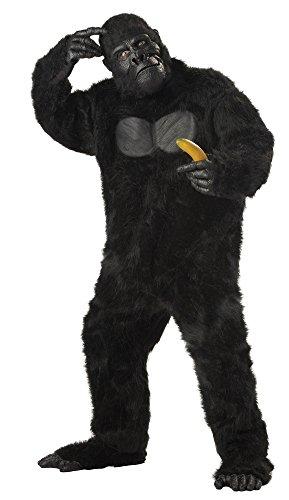California Costumes Men's Plus-Size Full Gorilla Suit Costume In Plus, Black, Plus Size