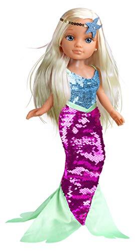 Nancy Un Día de Sirena - Muñeca Sumergible en Agua, para niños y niñas a Partir...