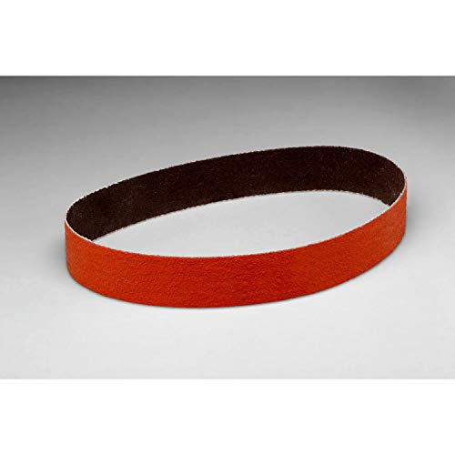 3M Cloth Band 341D - Hook and Loop Attachment - P120 Grit Abrasive Band for Die Grinder or Rotary Drill - 1.5