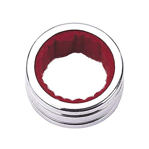 LANGING 4 Stück Edelstahl Weintropfring Kragen Rotweinflaschenhalsband Alkohol-Stopring Silber