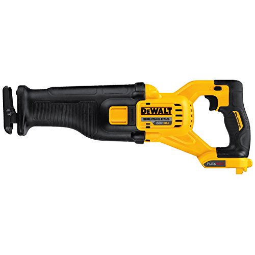 DEWALT FLEXVOLT 60V MAX Cordless Reciprocating Saw, Tool Only (DCS388B)