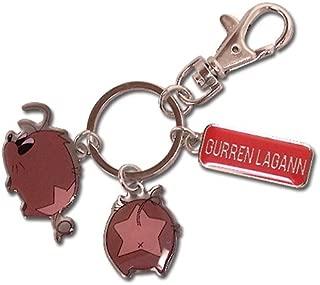 Great Eastern Entertainment Gurren Lagann Boota Metal Keychain