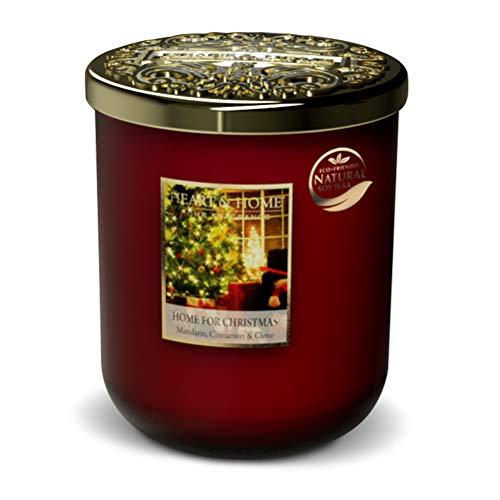 Bougie grand modèle Noël au coin du feu - Heart & Home