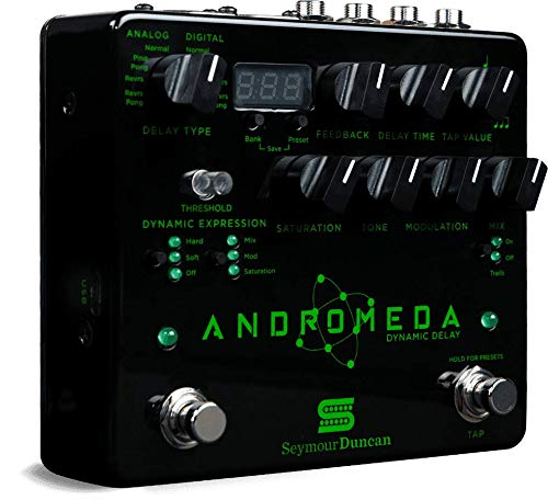 Seymour Duncan Andromeda Dynamic Digital Delay Guitar Effects Pedal