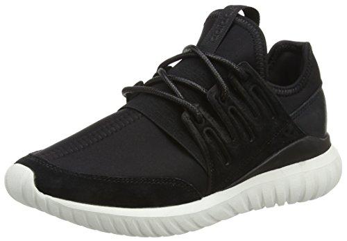 adidas Tubular Radial, Scarpe da Ginnastica Alte Unisex – Adulto, Nero (Core Black/Core Black/Crystal White), 40 2/3 EU