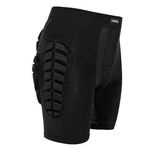 TOMSHOO Pantaloncini Sci Protezioni da Snowboard, Protezione Imbottiti Pantaloni per Lo Sci Pattinare all'aperto