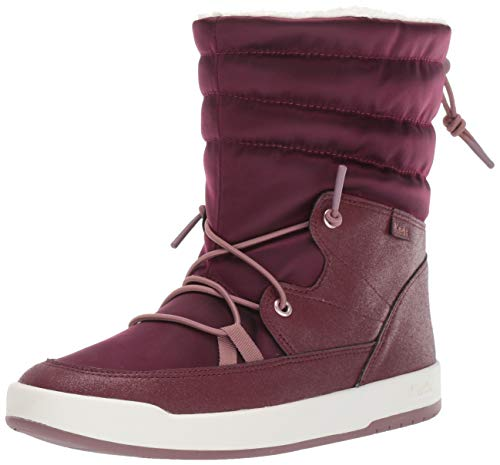 Keds Damen Tally Point Stiefel Nylon Thinsulate Wcx Knöchel, Rot (Burgundy Metallic), 37 EU