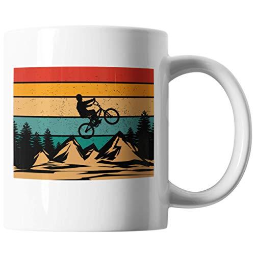 Kaffeetasse Fahrrad Spruch Geschenkidee   Lustige Mountenbike Tasse für Radsport Radfahren   Fahrradliebhaber