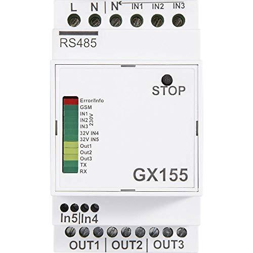 Unbekannt IC Inter Control 155431.006D05 Temperatursicherung 298 /°C 15 A 230 V//AC 45 x 30 x 12.7 mm 1 St. L x B x H