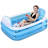 LAOBAN Piscina Inflable, Piscina De Salón Familiar con Respaldo, 1,5 M / 2,1 M,...