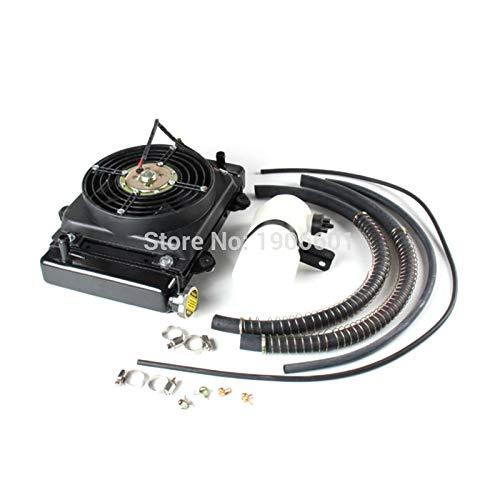 Nieuwe 150cc 200cc 250cc Water koeling motor koeler ketel pijp & 12v FAN VOOR moto Quad 4x4 ATV UTV onderdelen