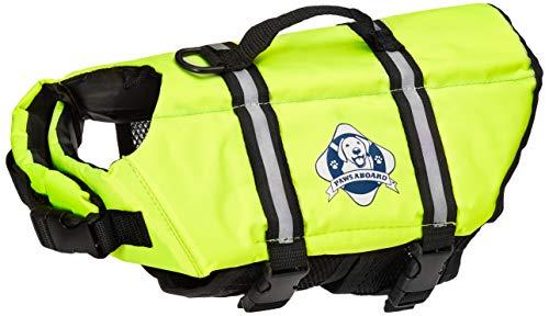 2. Paws Aboard Double Designer Doggy Life Jacket