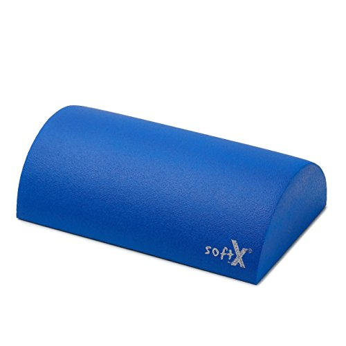 softX® Lagerungsrolle halbrund blau mit Coating 40x20cm