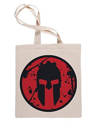 Kämpfer Helm Wiederverwendbare Einkaufstasche Reusable Tote Shopping Bag
