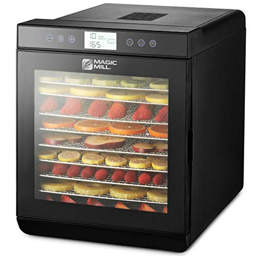 Purchase Magic Mill Food Dehydrator Machine - Easy Setup, Digital Adjustable Timer and Temperature C...