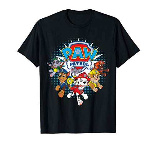 Paw Patrol Team Nickelodeon T-Shirt