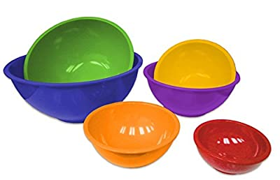 Gourmet Home Products 6-Piece Mixing Bowls