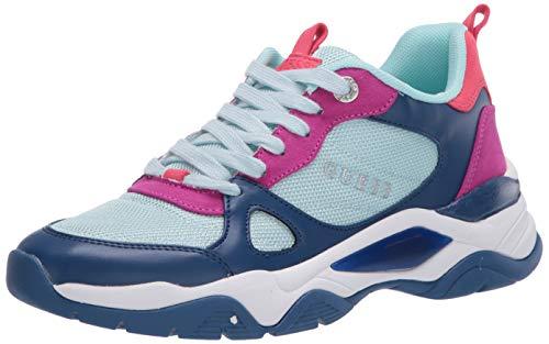 Guess Women's Sneaker, Blue,8 M US