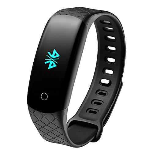 ZDY Pulsera Inteligente, Deportes al Aire Libre Impermeable IP68 Fitness Tracker, Reloj Inteligente con Monitor de Ritmo cardíaco/podómetro/sueño para Hombres, Mujeres y niños.