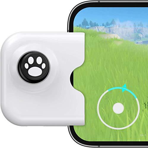Manette de jeu mobile iPhone - joystick gaming - jeux sur téléphone ( IOS 13.4 ou ultérieur) - Accessoire portable compatible avec LOL ,PUBG , Call of Duty, Genshin Impact, Minecraft, Wild rift, …