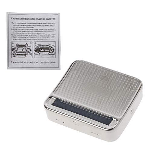 WT-DDJJK Steckdose, Rolltabakbox 70mm Metall Automatik Zigarettenraucher Rollmaschine Neu