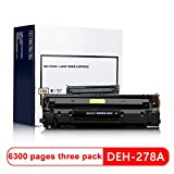 For HP P1560 P1566 P1606 P1606dn M1536dnfプリンターブラックトナーカートリッジロスレスオフィス用品用DEH-278A互換トナーカートリッジ-B