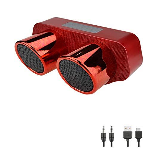 OPAKY Neue HiFi-HiFi-Desktop-Bluetooth-Lautsprecher FM Fuctio TF-Karte & U-Disk für iPhone, Samsung usw