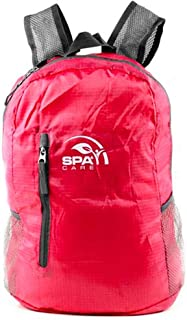 SPACARE Foldable Backpack, Red