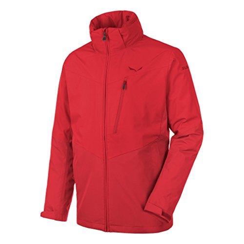 Salewa Fanes Clastic PTX 2L M JKT - Veste pour Homme, Couleur Rouge, Taille 52/XL