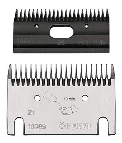 Kerbl 18960 Schermesser-Set Kerbl Premium, Rind 21/23 Zähne