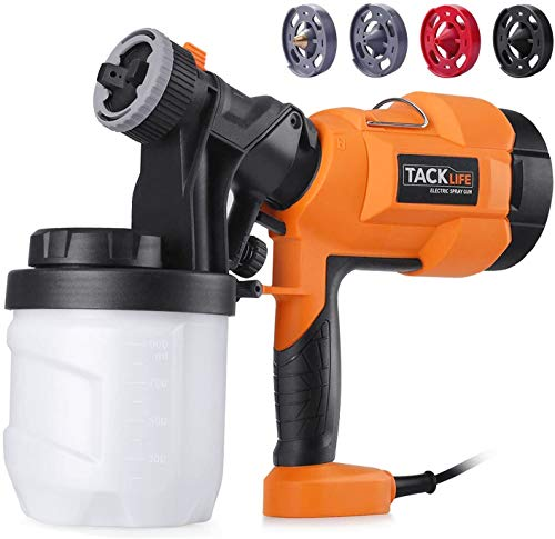 TACKLIFE Paint Sprayer, 400W 3 Modes, 900Ml...