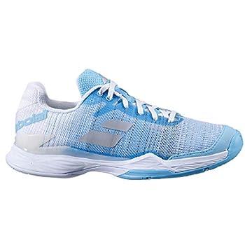 Babolat Women s Jet Mach II All Court Tennis Shoes Capri/White  US Size 9