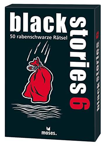 moses. black stories 6 | 50 rabenschwarze Rätsel | Das Krimi Kartenspiel