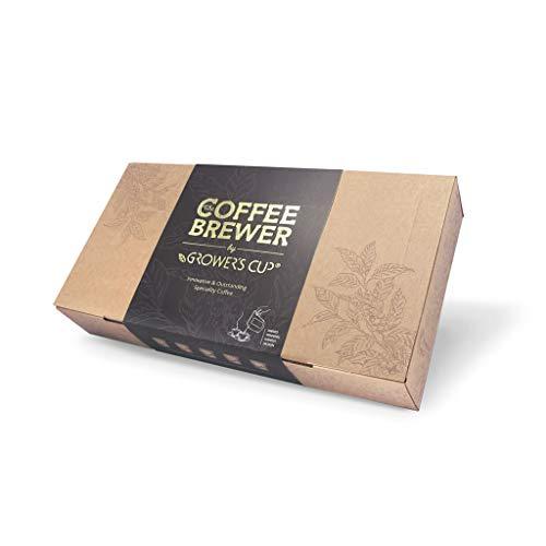 Kaffee Geschenk-Set, Coffeebrewer 10er-Sortiment aus The Brew Company | 5x2 verschiedenen spezialitäten Kaffeesorten | Das perfekte Kaffee geschenke für den Kaffeeliebhaber