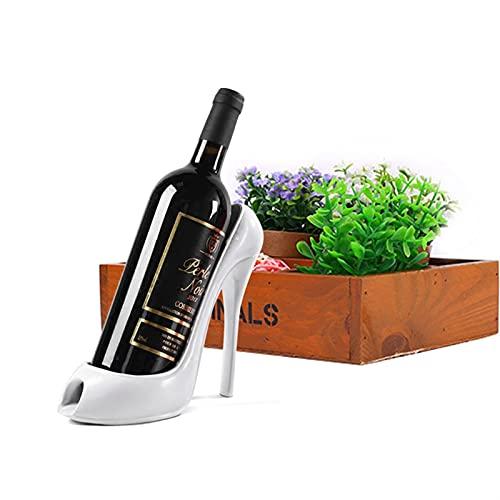 Estantería de vino Zapato de tacón alto Soporte de botella de vino con estilo Barra de cocina con estilo Creativo Tinto Botella de vino Botella de bastidor Titular de la botella de vino Decoración del