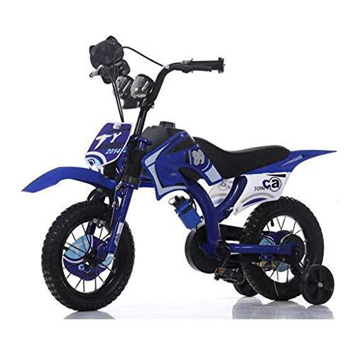 Comfort Bikes Aerobic exercise3-9 Jahre alt Freestyle Berg Motorrad-förmigen Fahrrad für-Kinder, Jungen, Mädchen, Kinder und Anfänger Teen 12 14 16 18-Zoll-Räder, High Carbon Ste ZHNGHENG