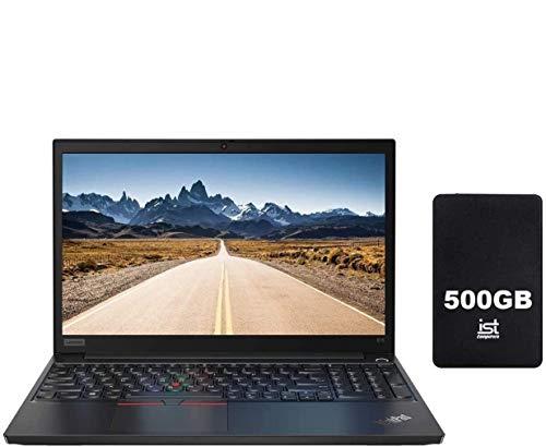 "2020 Lenovo ThinkPad E15 15.6"" FHD Full HD (1920x1080) IPS Business Laptop (Intel 10th Quad Core i7-10510U, 32GB RAM,1TB PCIe SSD) Type-C, HDMI, RJ-45, Windows 10 Pro+ IST Computers 500GB"