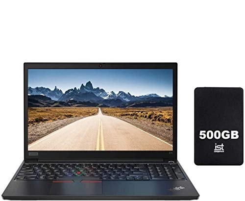 "2020 Lenovo ThinkPad E15 15.6"" FHD Full HD (1920x1080) IPS Business Laptop (Intel 10th Quad Core i7-10510U, 32GB RAM,1TB PCIe SSD) Fingerprint, Type-C, HDMI, RJ-45, Windows 10 Pro+ IST Computers 500GB"