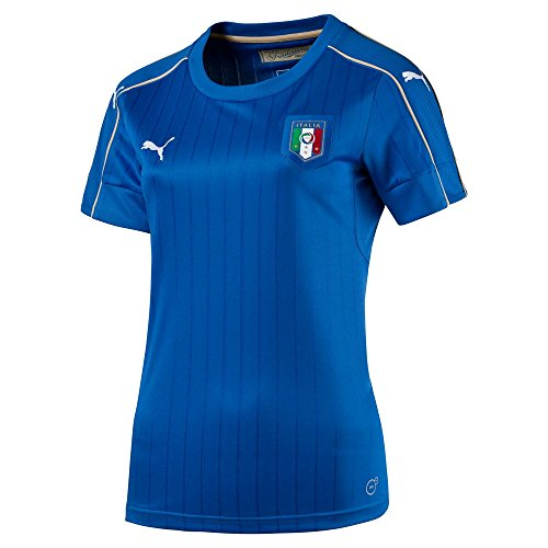 Puma Women's FIGC ITalia (Italy) Home Football Soccer Jersey Shirt (Large)