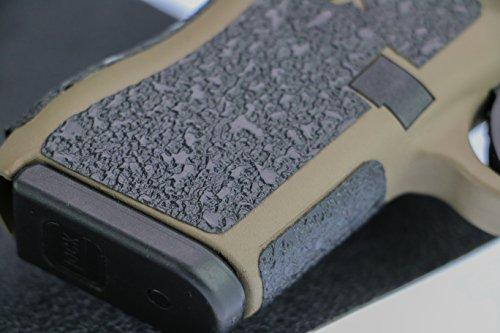 Foxx Grips -Gun Grip Material Sheet 6 x 6 inch Rubber Texture