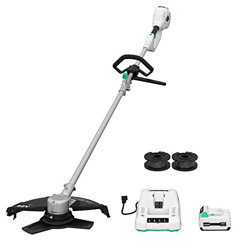 Lowest Price! LiTHELi 40V Cordless Grass Trimmer 14 inches 2 in 1 with Brushless Motor, 2.5AH Batter...